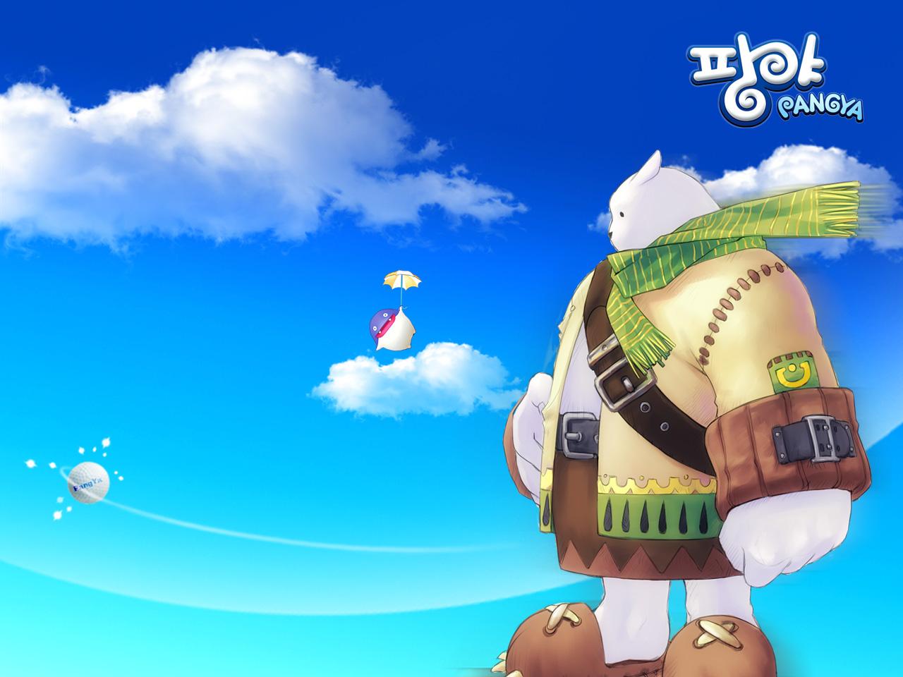《pangya》超可爱游戏壁纸(1280×960)(6)