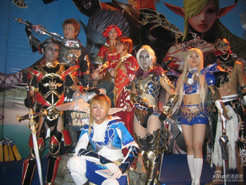 cosplay:大合影