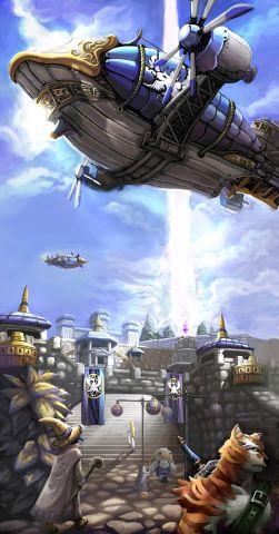 《蒸汽幻想》游戏原画