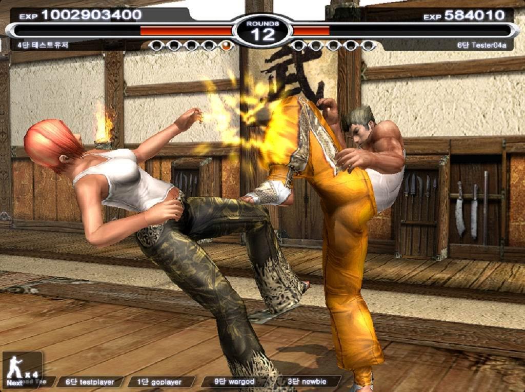 格斗网游《拳豪OL》游戏画面