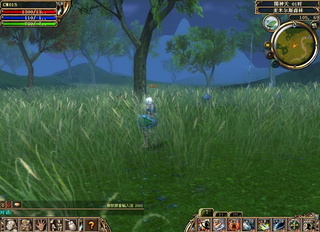万王之王2游戏截图:麦米尔斯森林