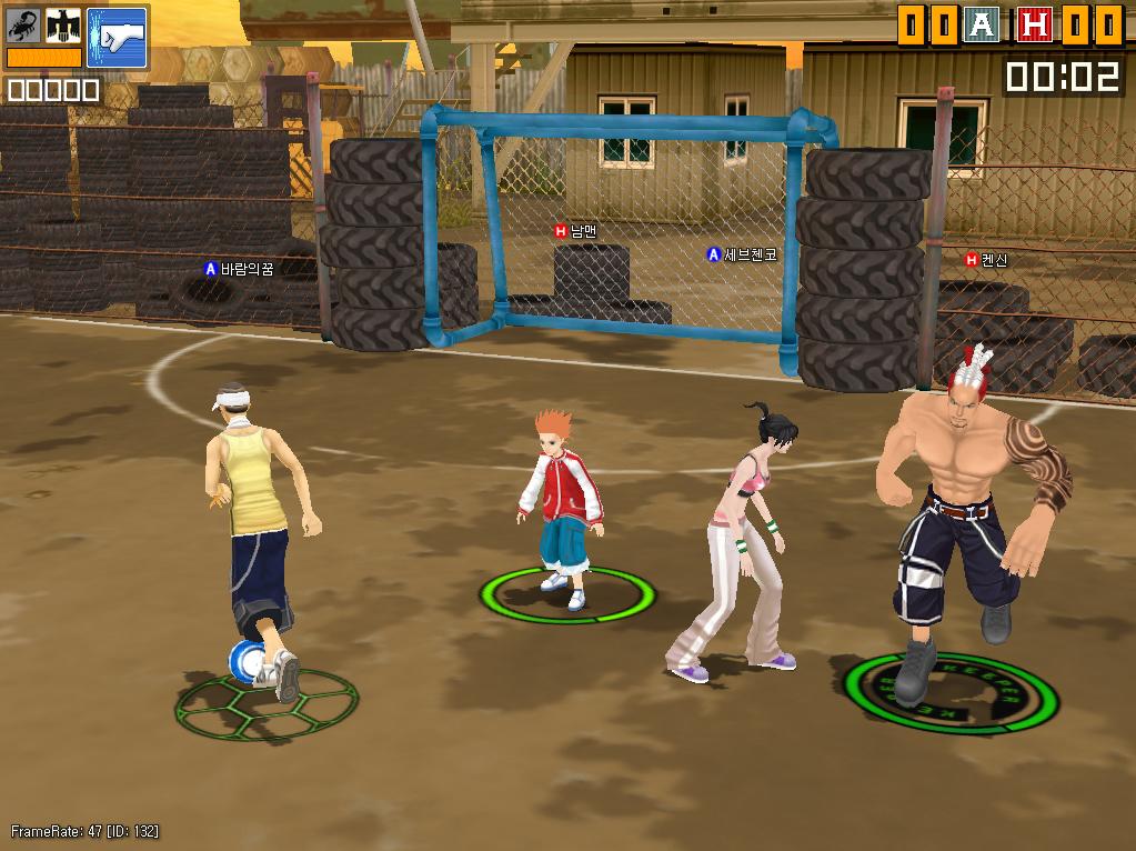 《劲爆足球》游戏画面