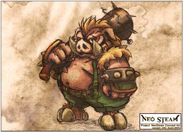 怪物原画;; 蒸汽幻想:恐怖怪物原画欣赏-131游戏之家-蒸汽幻想; 蒸汽