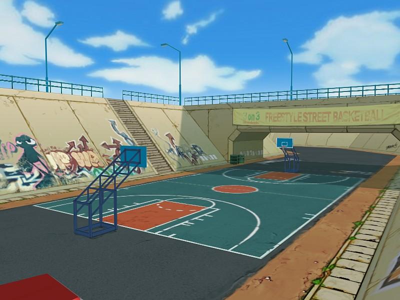 《街头篮球》场地介绍(8)