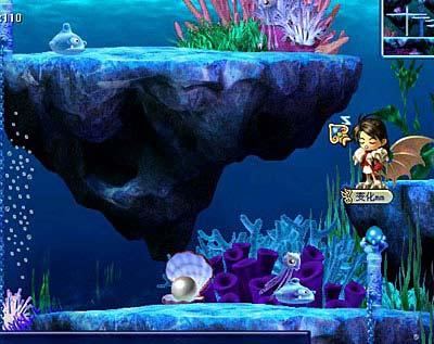 神秘的海底世界和生物