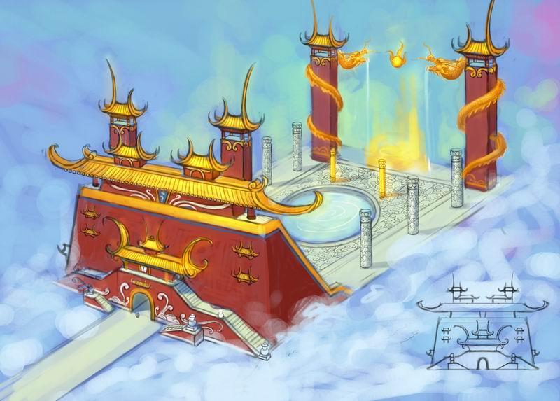 灵宵宝殿室外