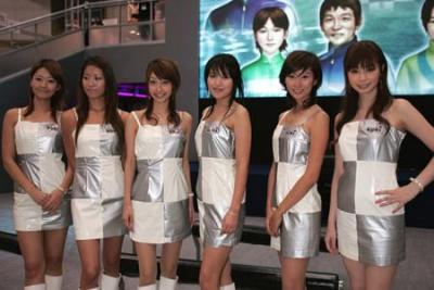 视频:东京电玩展美女短裙秀