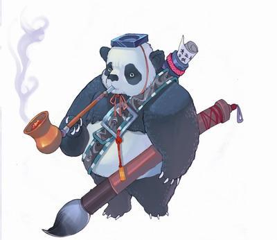 《少林传奇》惊现国宝熊猫五兄弟图片图片