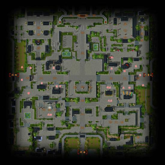 地图一览_城市地图_大理