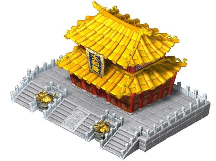 场景简介-建筑物-京城建筑