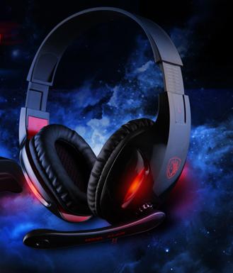 SADES/赛德斯SA-808嗜血狂蛇耳机 游戏耳机 WCG2013推荐耳机