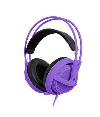 SteelSeries(赛睿)西伯利亚v2 耳机 紫色
