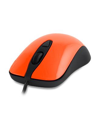 SteelSeries(赛睿)Kinzu v2 光学游戏鼠标 橙色