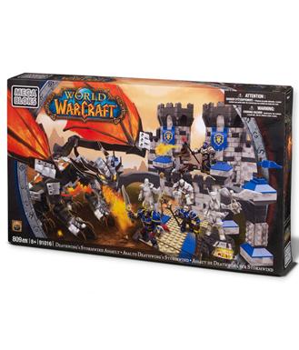 魔兽世界 死亡之翼突袭暴风城 Mega Bloks 积木玩具