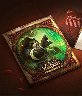 魔兽世界 典藏版 《熊猫人之谜》美术画册