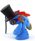 魔兽世界 莫奇 鱼人宝宝 公仔