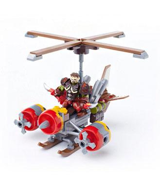 魔兽世界 魔兽世界游戏周边 积木玩具 涡轮加速飞行器