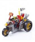 魔兽世界 魔兽世界游戏周边 积木玩具 地精机车军队