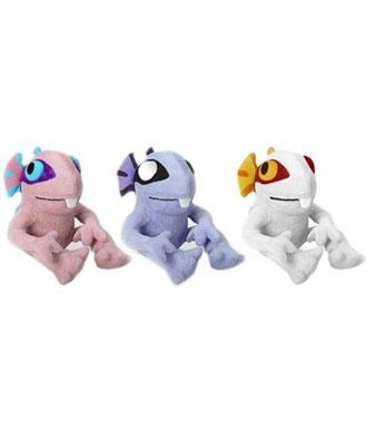 魔兽世界 白色Lurky 鱼人宝宝 毛绒玩偶