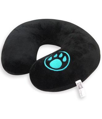 魔兽世界 熊猫人款 经典黑色 U型枕