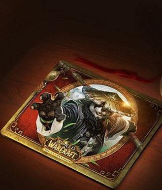 魔兽世界 典藏版 陈·风暴烈酒主题鼠标垫