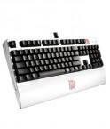 曜越Ttesports 拓荒者G1白色版KB-MEG005USC01电竞键盘