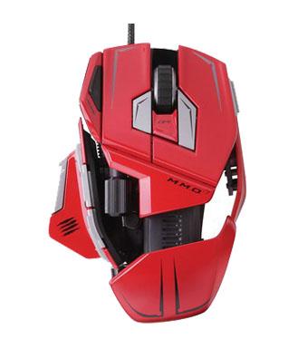 美加狮 M.M.O.7 赤魔版 双眼激光游戏鼠标