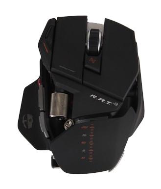 美加狮 R.A.T.9 升级版 双眼无线激光游戏鼠标