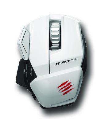 美加狮 R.A.T.M 蓝牙4.0 雪妖版 无线游戏鼠标