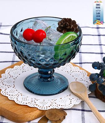 冰淇淋水晶杯