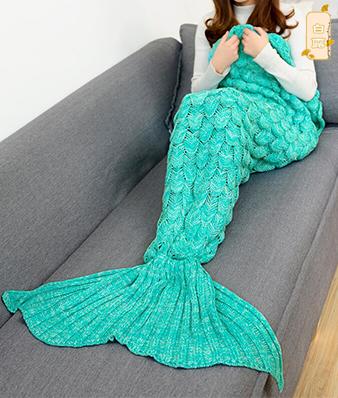 美人鱼鱼尾毯
