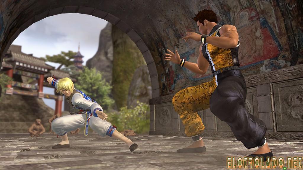 Xbox360《死或生4》惊艳游戏画面