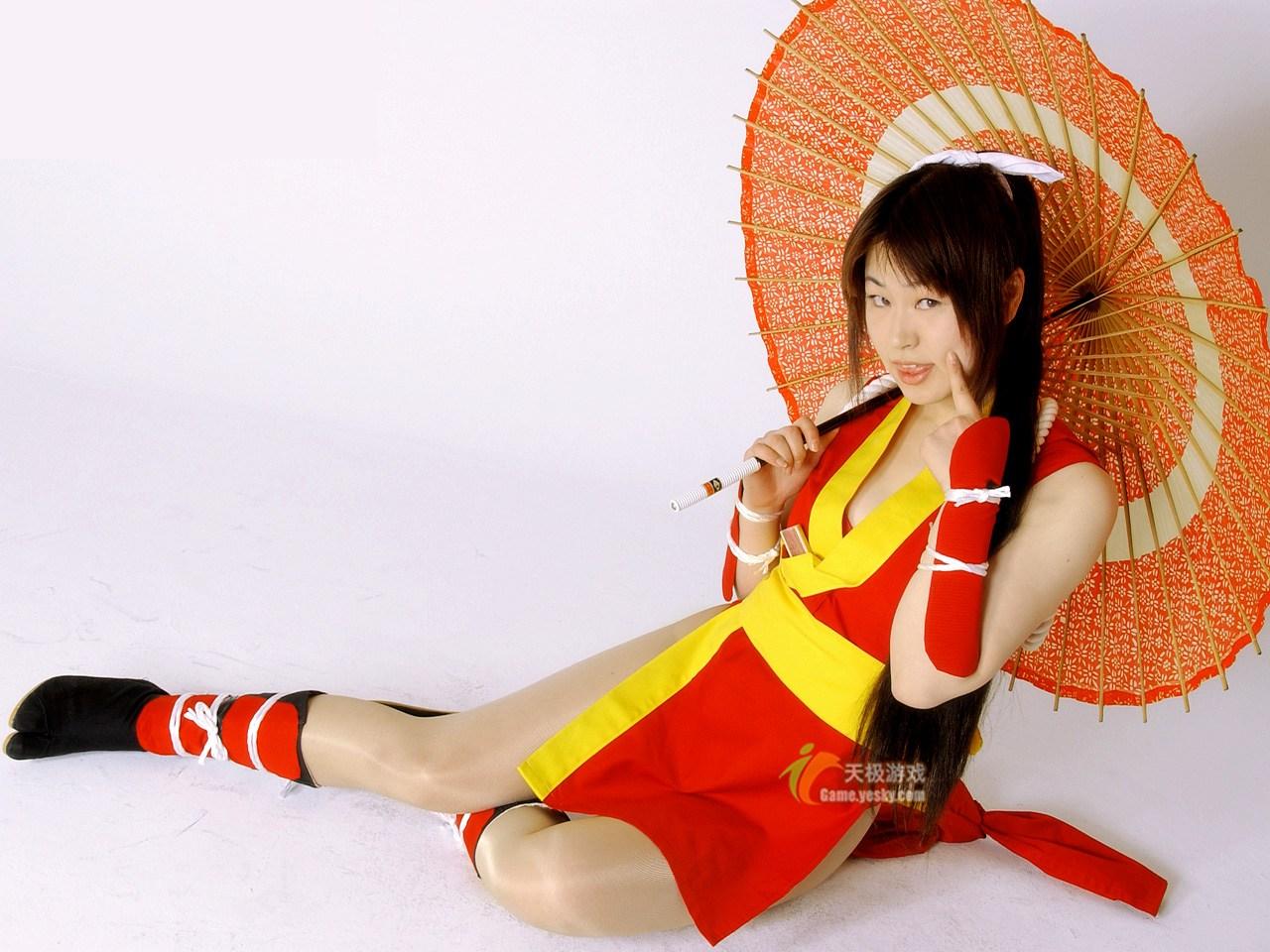 《不知火舞》格斗美女cosplay