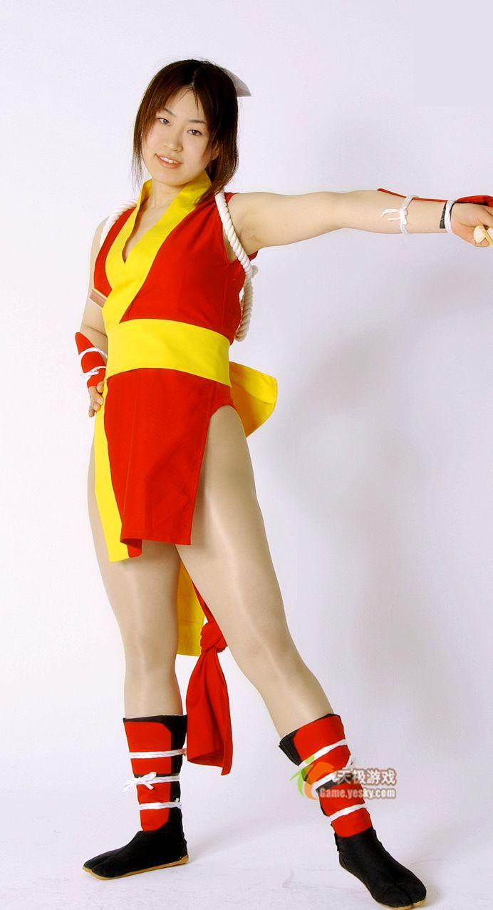 《不知火舞》格斗美女cosplay 竖