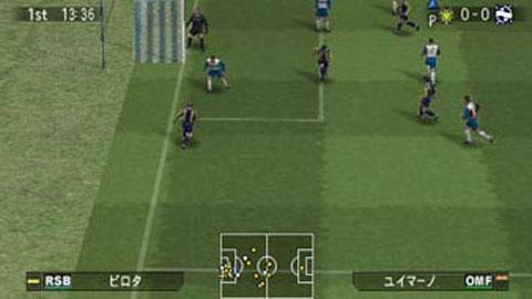 实况足球9_psp版《实况足球9》最新游戏画面(3)