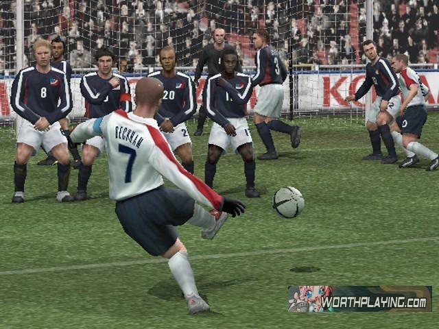 《实况足球8国际版》游戏画面三