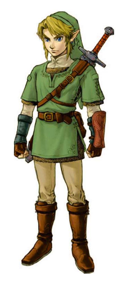 《新塞尔达传说》主角林克人设图图片