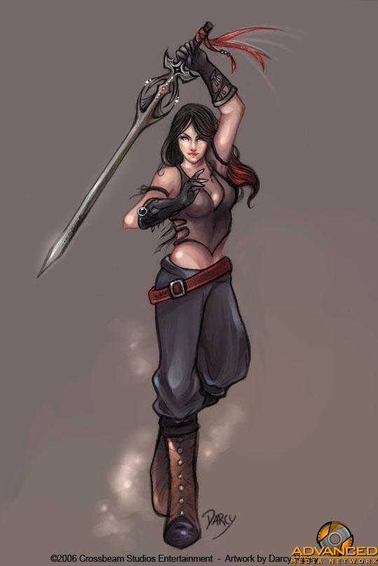 剑与美女的设定