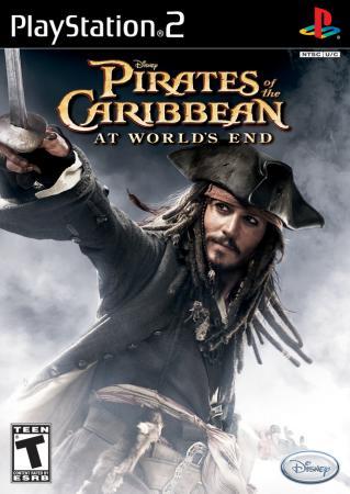 新浪游戏_《加勒比海盗3》PS2游戏封面欣赏