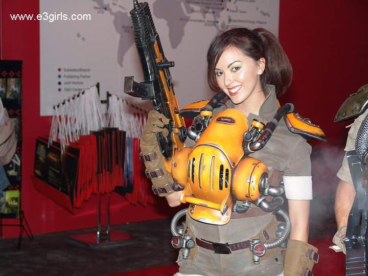 2005 E3游戏展会现场MM