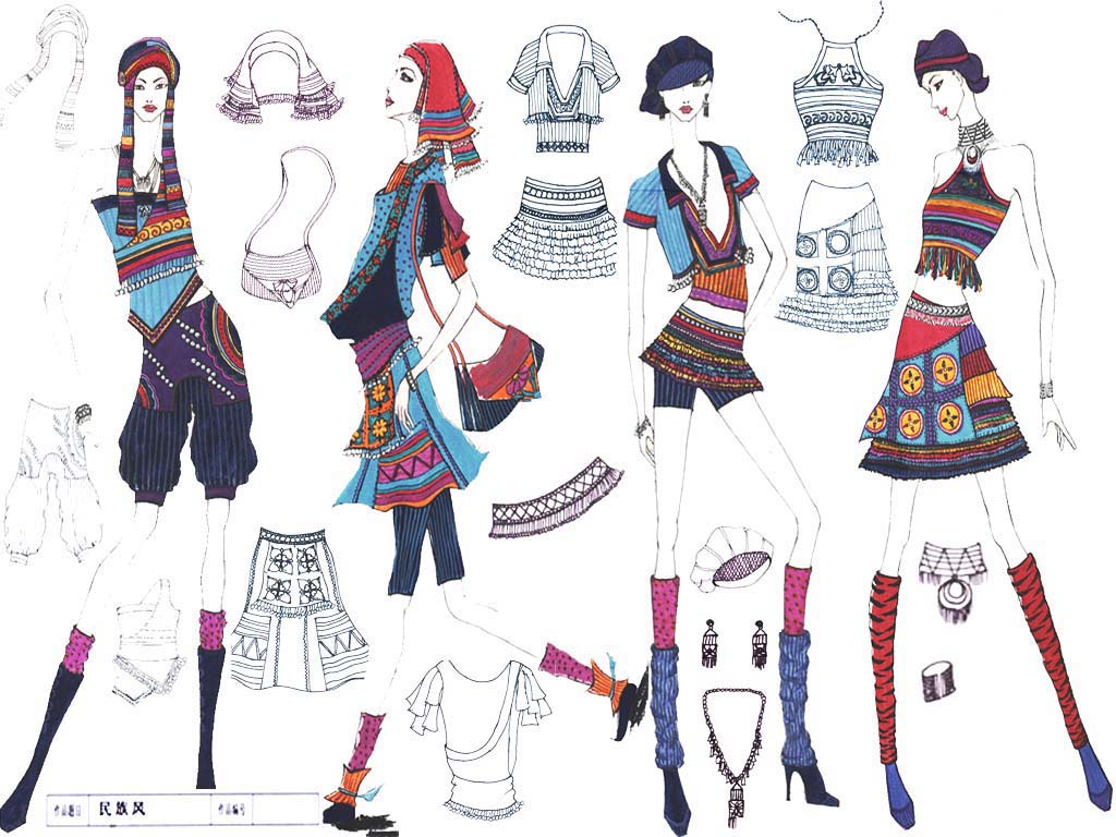 服装设计大赛作品选登