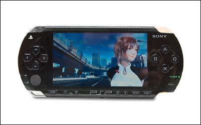新浪游戏_2005CES热门产品:索尼PSP游戏机(图)