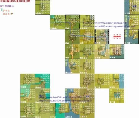 神兵世界地图