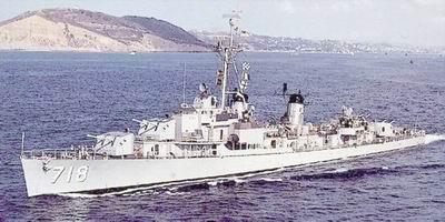 大胆级驱逐舰_美国海军驱逐舰——基林级(gearing)