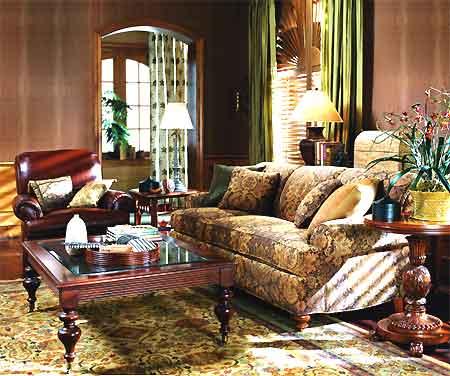 图为:典雅的欧式风格家具