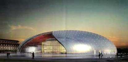 景观设计酷图赏析--国家大剧院(图)