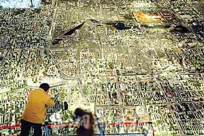 图文:北京城市总体规划成果展--浓缩的北京城