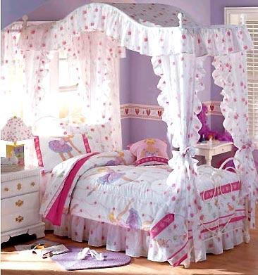 组图:梦幻小公主的卧室
