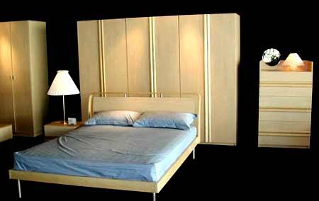 组图:曲美简洁风格睡床(1)