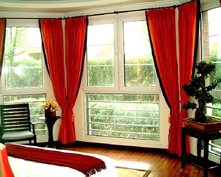 花厅 洋楼 八角/图为福提岛之花厅洋楼八角窗